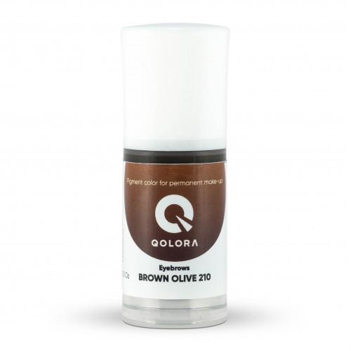 Пигмент Qolora Brown Olive 210