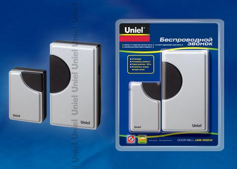 UDB-002W-R1T1-32S-100M-SL Звонок беспроводной. Блистерная упаковка