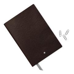 Записная книжка А5 коричневого цвета, линованные страницы