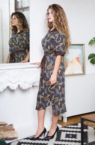 Женский халат на пуговицах  MIA- MIA Elania 16427