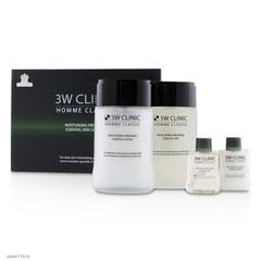 [3W CLINIC] УВЛАЖНЕНИЕ И СВЕЖЕСТЬ Набор д/ухода за мужской кожей HOMME Classic Moisturizing Freshnes