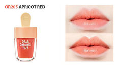 Увлажняющий тинт для губ Красный Абрикос 4,5 гр