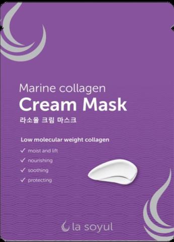 La Soyul Кремовая маска Marine Collagen, 28 г