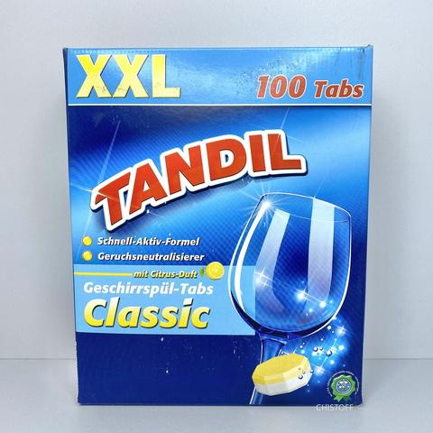 Таблетки для посудомоечной машины Tandil (100 шт.)