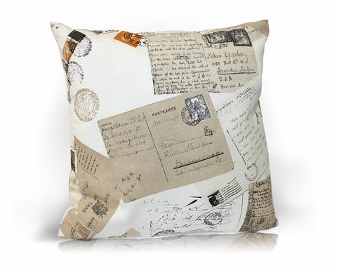 Подушка декоративная Postcard
