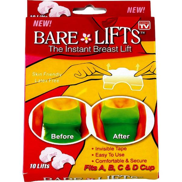 Для красоты и здоровья Наклейки для поднятия бюста Bare Lifts bare_lifts.jpg
