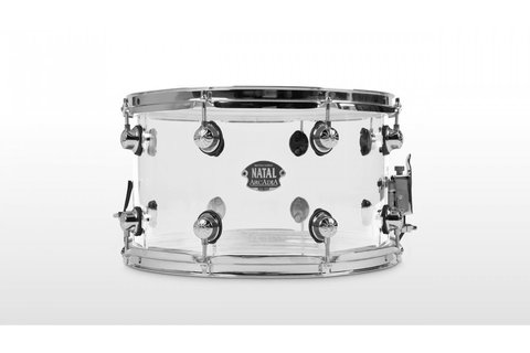 NATAL DRUMS ARCADIA ACRYLIC SNARE DRUM TRANSPARENT малый барабан