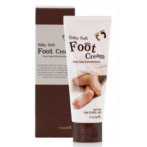 Calmia Silky Soft Foot Cream смягчающий крем для ног с маслом Ши и Макадамии