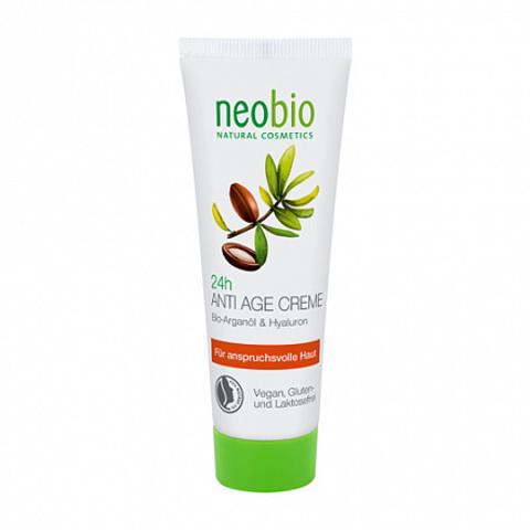 Neobio, 24 часа разглаживающий крем для лица, 50мл