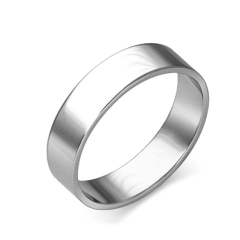 01-4278-00-000-2100-45 - Обручальное кольцо из платины 950 пробы