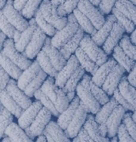 Пряжа ALIZE PUFFY №374 темно голубой