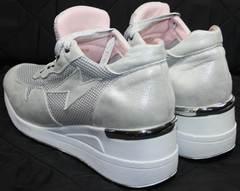 Кроссовки летние женские Topas 4C-8045 Silver.