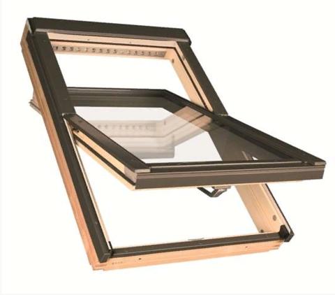 Мансардное окно Факро FTP-V L3/P2 Триплекс 78х140
