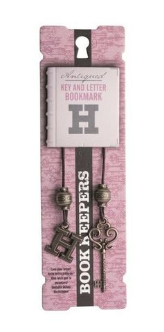 Bookmark Keepers Antiq Letter H