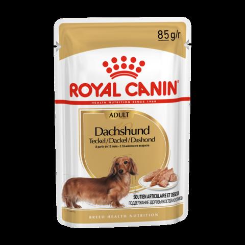 Royal Canin Dachshund Adult Консервы для собак породы такса (Пауч)
