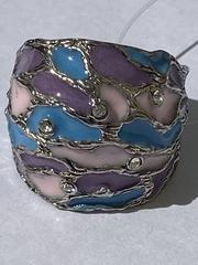 Сумерки  М  (кольцо из серебра)