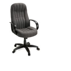 Кресло для руководителя Chairman 685 серое (ткань/пластик)