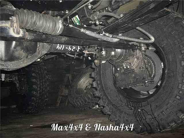 Редукторные мосты на основе УАЗ Спайсер