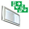 Аварийные светильники для низких температур до -40 С Formula 65 LED Extreme можно применяться как эвакуационный указатель выходов