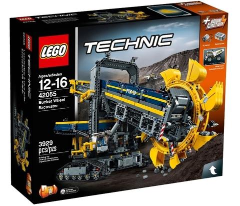 LEGO Technic: Роторный экскаватор 42055 — Bucket Wheel Excavator — Лего Техника