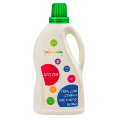 Гель для стирки цветного белья, 1500мл ТМ FreshBubble