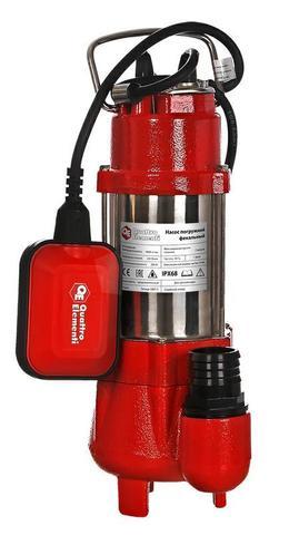 Фекальный насос QUATTRO ELEMENTI Sewage  300F Ci (300 Вт, 9000 л/ч, для грязной, 7 м, 9,0  (910-140)