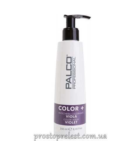Palco Professional Color + Color Mask Violet - Питательная тонирующая маска для волос Фиолетовая