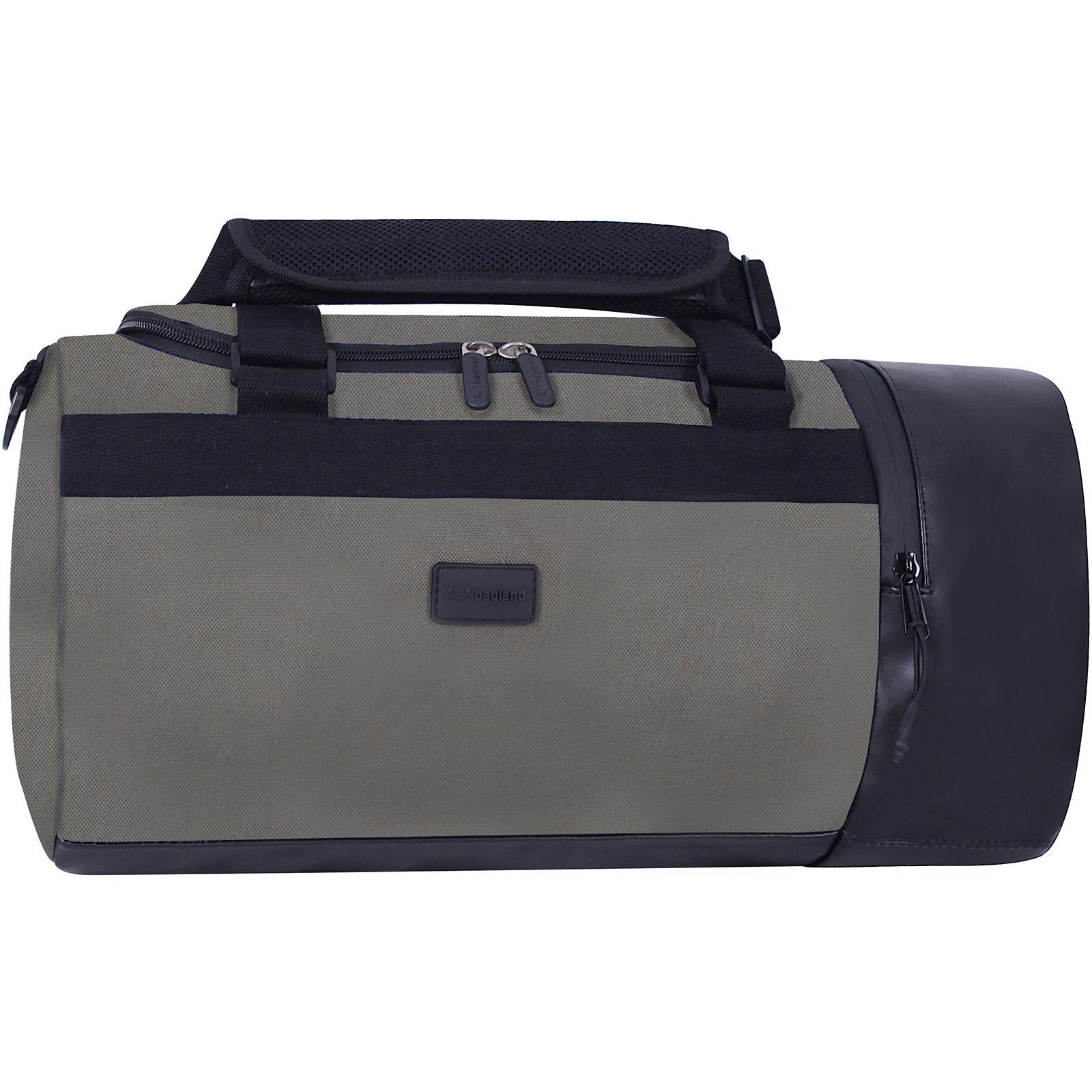 Спортивные сумки Сумка Bagland Klerk 22 л. Хаки (0032766) IMG_5953.JPG