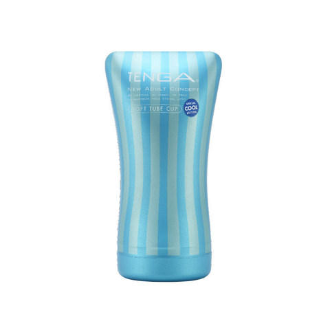 TENGA Мастурбатор Soft Tube Cool с охлаждающим эффектом