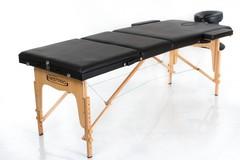 Массажный стол деревянный 3-хсекционный RESTPRO Classic 3 Black
