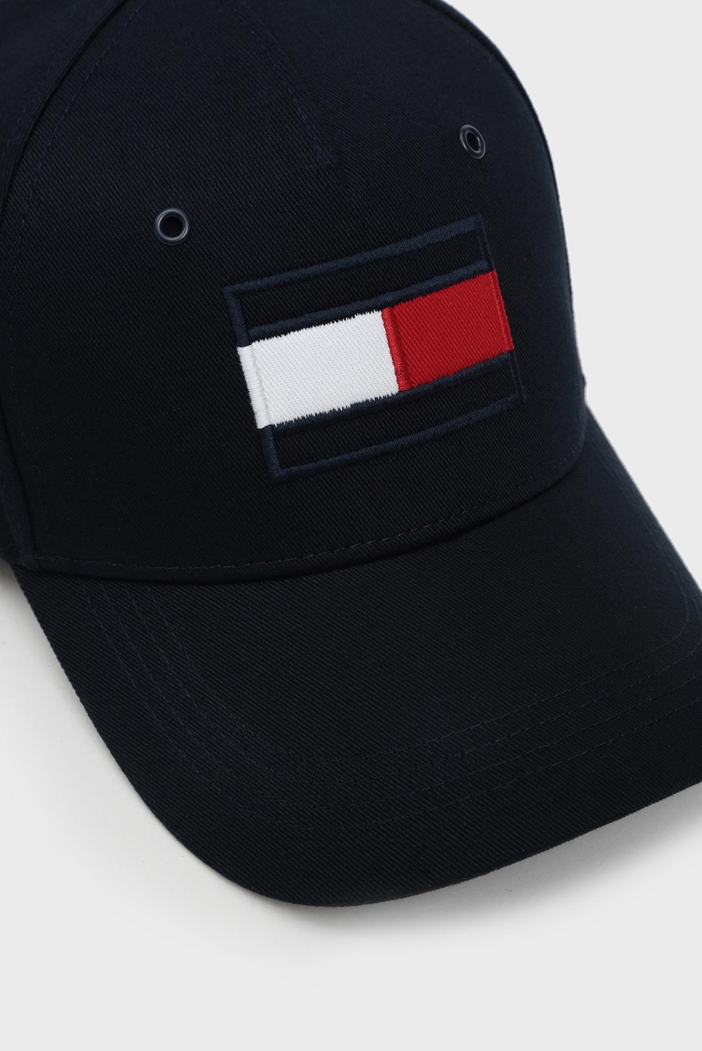 Мужская темно-синяя кепка BIG FLAG Tommy Hilfiger