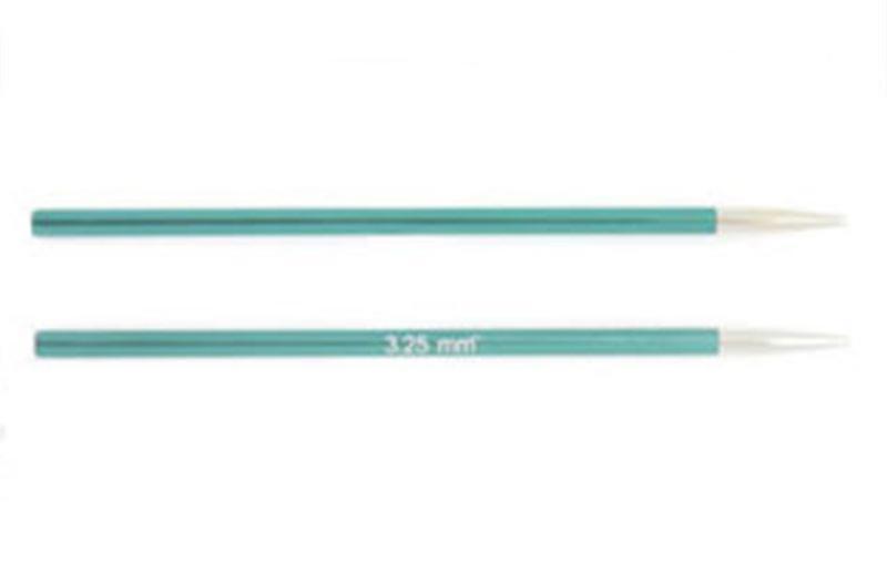 Спицы KnitPro Zing съемные укороченные 3,25 мм 47529