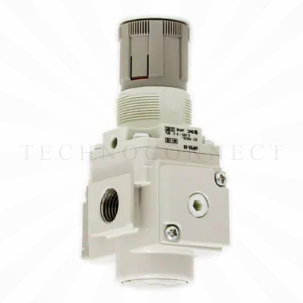 ARP20K-F02   Прецизионный регулятор давления с обр. клапаном. G1/4