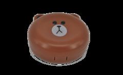 Дорожный набор для линз «Бурый медведь»
