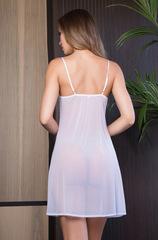 Сорочка белая 17530 Evelin