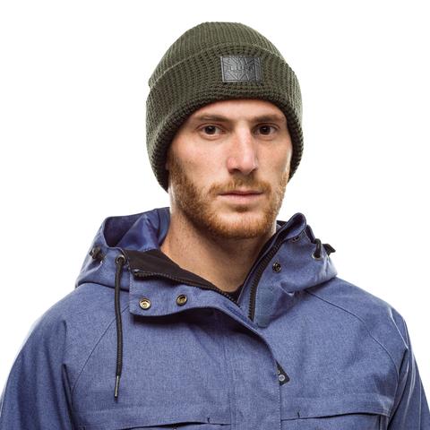 Вязаная шапка Buff Hat Knitted Kirill Forest Green фото 2