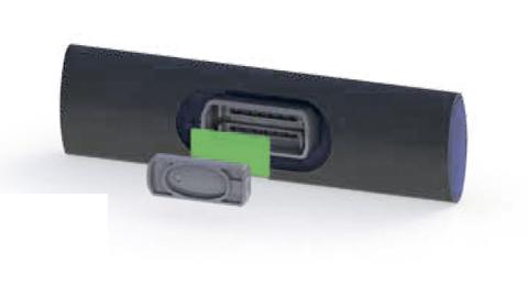 Подземная трубка с плоским эмиттером PC AS/ND (Ø 22 мм)