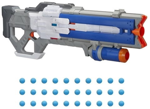 Nerf бластер Райвл Овервотч Солдат-76