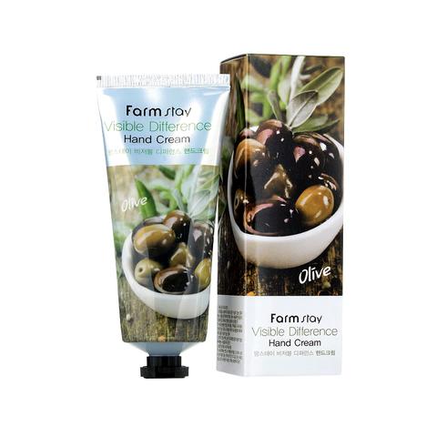 Farm Stay Olive Intensive Moisture Hand Nail Cream крем для рук и ногтей с оливой
