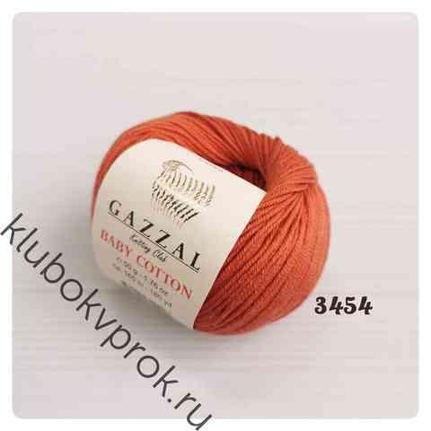 GAZZAL BABY COTTON 3454, Молочный шоколад