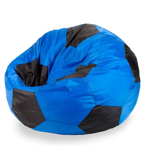 Кресло-мешок «Мяч» Сине-черный