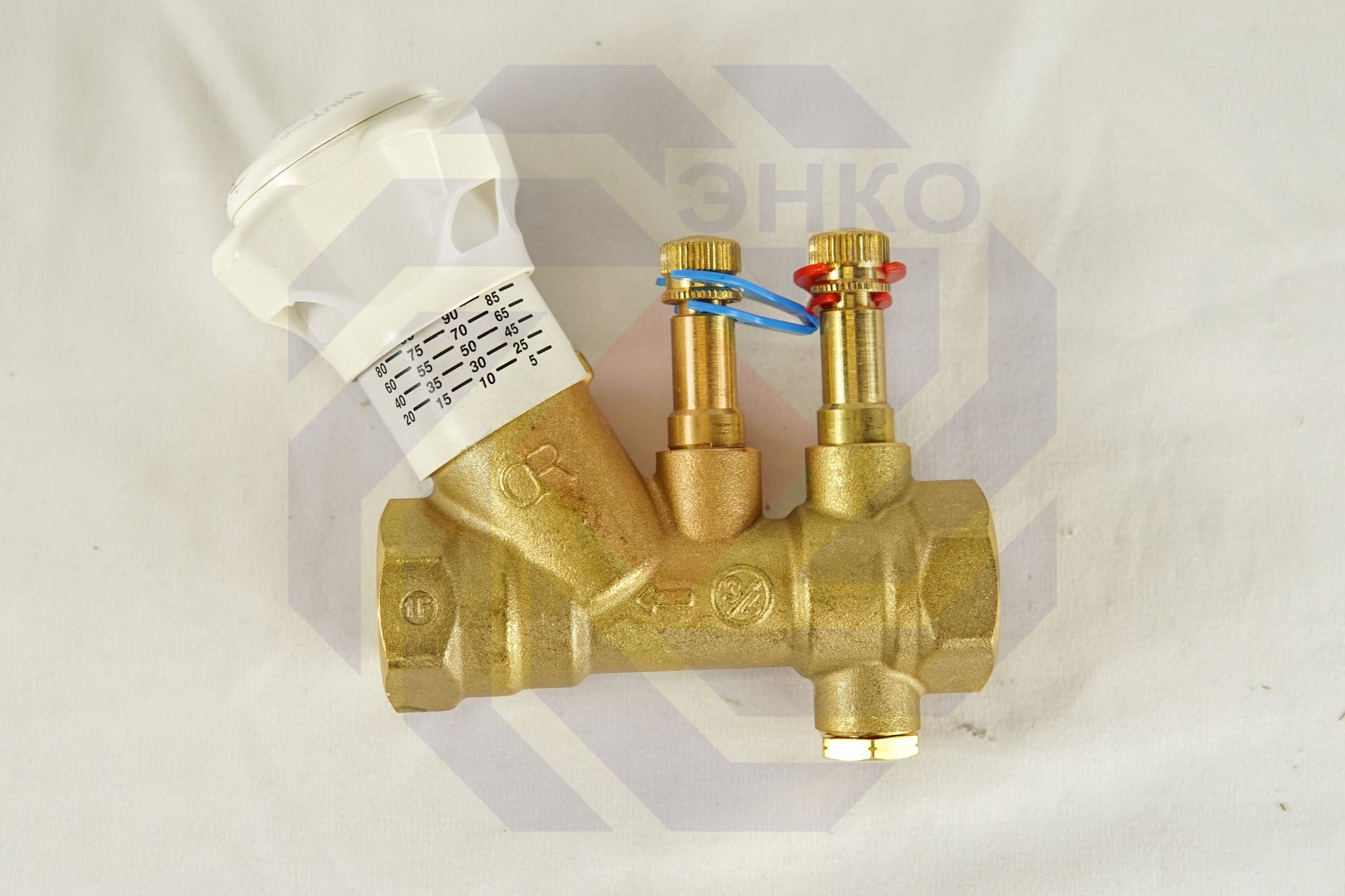 Клапан балансировочный GIACOMINI R206B DN 20