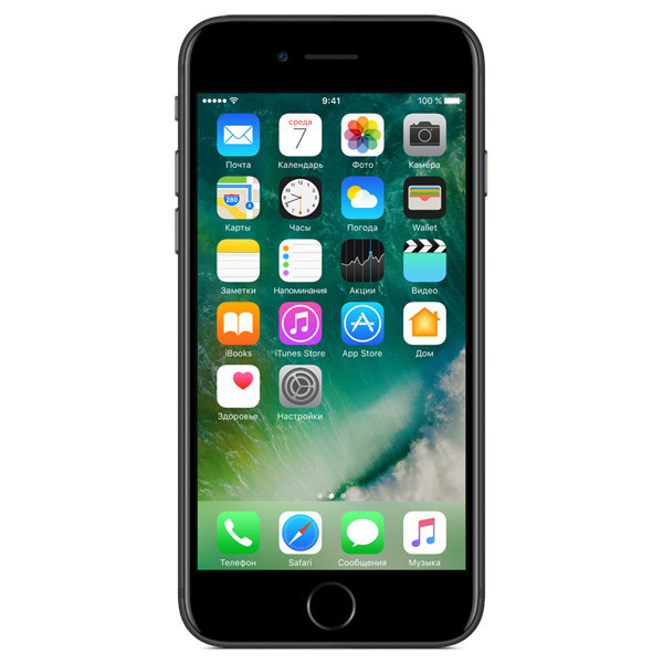Apple iPhone 7 256GB Black (Ростест)