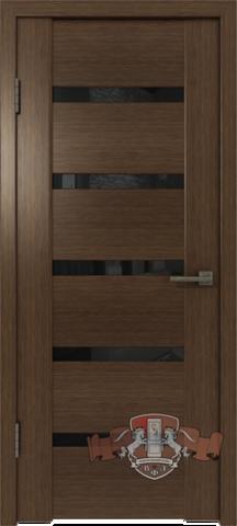 Дверь 17ДО4 (венге, остекленная шпонированная), фабрика Владимирская фабрика дверей