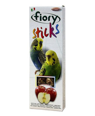 FIORY палочки для попугаев Sticks с яблоком 2х30г