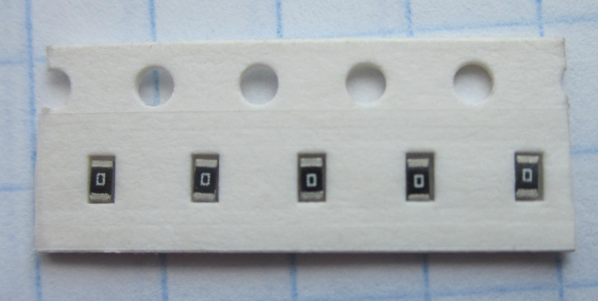 0 Ом чип 0603