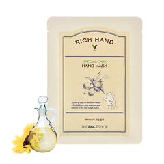 Маска для рук THE FACE SHOP Rich Hand V Special Care Hand Mask 1ea