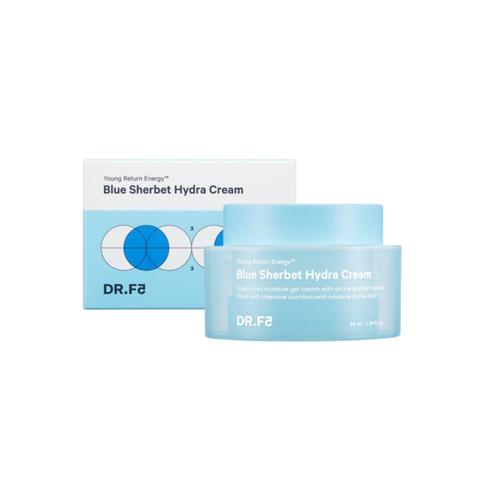 DR.F5 Крем-щербет для интенсивного увлажнения - Blue sherbet hydra cream, 50мл