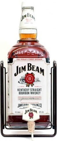 Виски Jim Beam, with Pouring Stand, gift box, 3 л