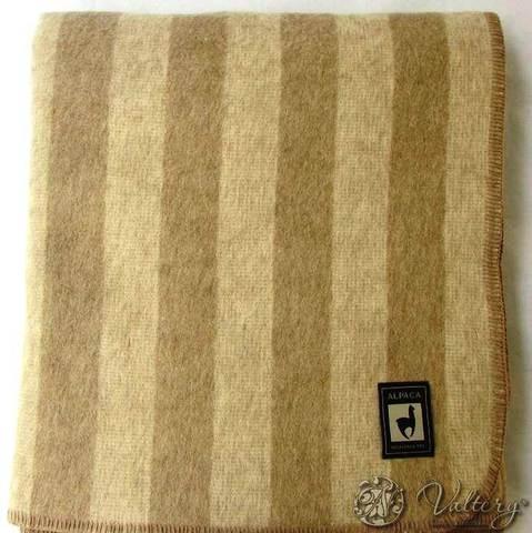 Одеяло шерстяное Марк кремовый